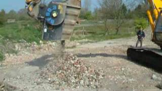Video still for ECO Crusher Aggregate JobSite 2