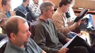 Epica - Choir rehearsal for the Classical Conspiracy / Kóruspróba a Classical Conspiracyhoz