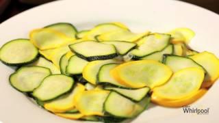 Lemon Pepper Zucchini Chips - Microwave Recipe