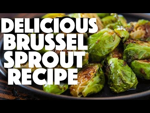 How to make roasted brussel sprouts – vegan recipes – low carb – cooking brussel sprouts – brussels