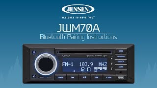 Videos jensen jwm70a bluetooth pairing instructions sciox Choice Image
