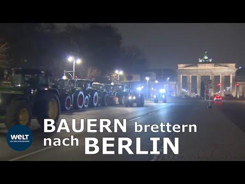 BERLIN: Tausende Bauern