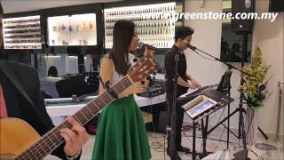 greenstone music wedding live band melaka malaysia YOU AND ME