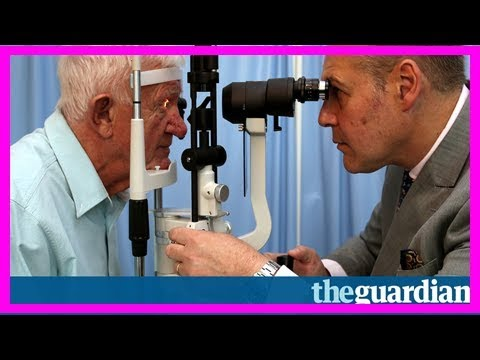 Channel 4 adverts to show viewers different sight loss conditions