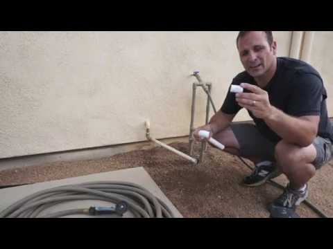 Watering plants with AC runoff condensation
