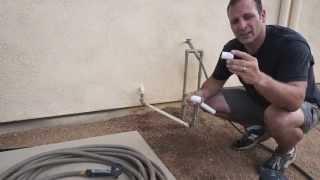 AC akış yoğunlaşma ile bitkilerin sulama