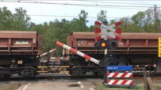 Spoorwegovergang Kootwijk // Dutch railroad crossing // Bahnübergang