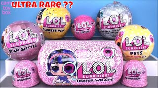 LOL Surprise BLING Glam Glitter Under Wraps LIL Sisters PETS EYE SPY Dolls TOYS Unboxing