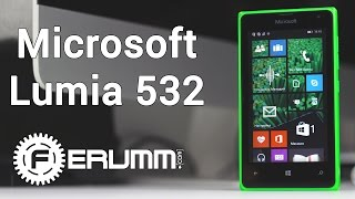 Microsoft Lumia 532 DUAL SIM обзор. Особенности смартфона Microsoft Lumia 532 DUAL SIM от FERUMM.COM(Microsoft Lumia 532 DUAL SIM купить: http://ava.ua/product/811025/Microsoft-Lumia-532/ Microsoft Lumia 532 DUAL SIM - один из самых доступных ..., 2015-04-04T11:56:54.000Z)