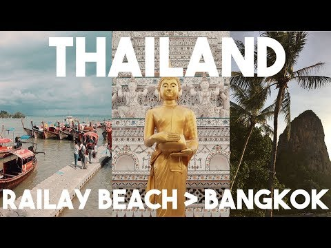 THAILAND TRAVEL VLOG | WE GOT SCAMMED 3 TIMES?!?! | RAILAY B