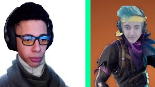 Youtubers/Streamers favorite skins in Fortnite | BattleRoyale