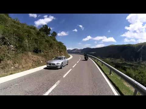 Day #3 The N270 Through The Pyrenees #Triumphsontour