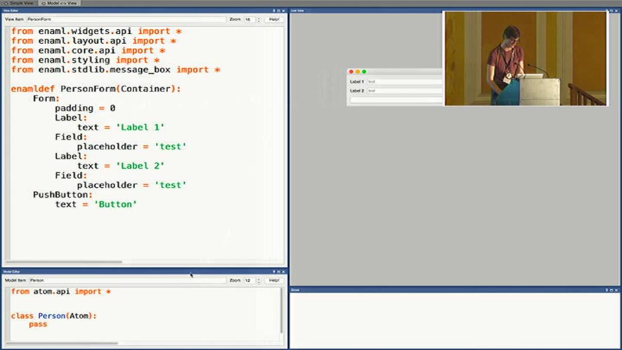 Image from Declarative user interfaces in Python using ENAML