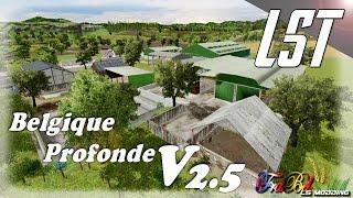 live sur farming simulator 2015 sur la map Belgique Profonde V2.5 et renault 751 de X3D