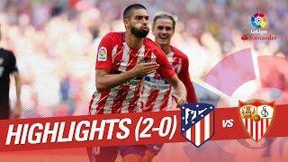 Resumen de Atltico de Madrid vs Sevilla FC 2-0