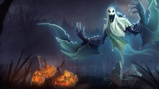 League of Legends: Haunting Nocturne Limited Edition Harrowing Skin Artwork