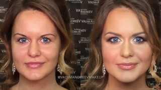 видео Свадебный макияж до и после