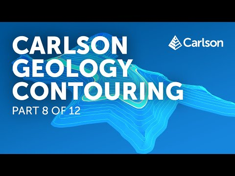 Carlson Geology | Contouring (Part 8/12)