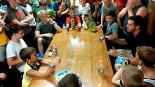 basketball camp rap battle at seth vs the harley