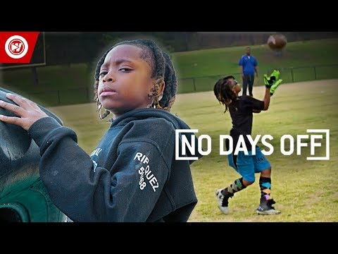 8 Year Old Football PRODIGY | Jaylen Huff