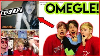 SAM AND COLBY ON OMEGLE MEETING FANS!! (w/Jake)