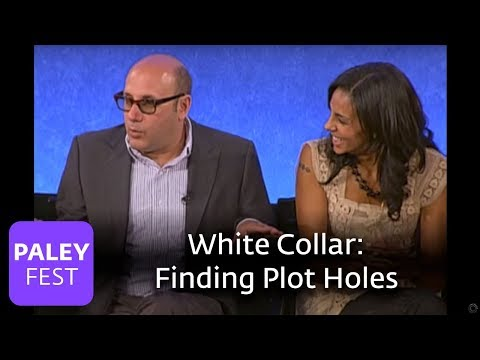 White Collar  The Cast on Finding Plot Holes Paley