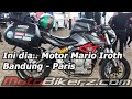 Mario Iroth & Benelli BN600 touring motorcycle from Bandung to Paris