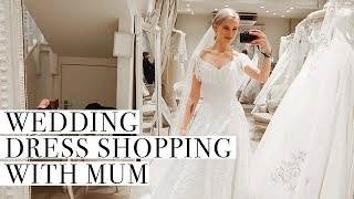 WEDDING DRESS TRY ON, BRIDAL UPDATES AND CHRISTMAS SHOPPING IN HARRODS ad