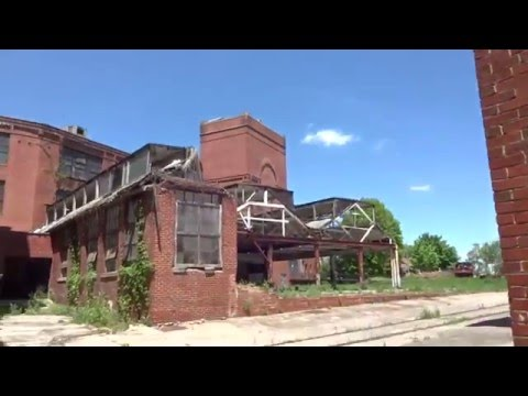 Abandoned Martinsburg Interwoven Mills Factory