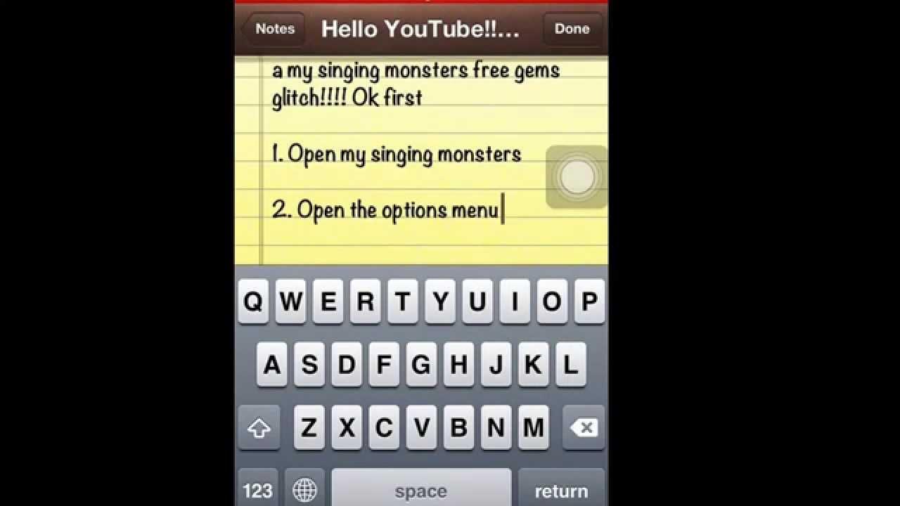 free gems my singing monsters