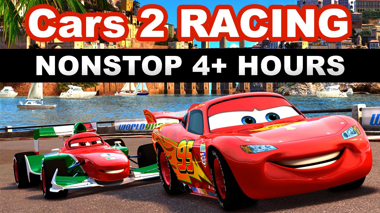 CAR RACING VIDEOS FOR CHILDREN - Nonstop 4 Hours (Car And Cars 2 ...
