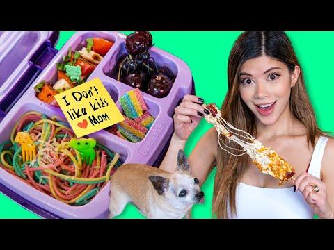 I Tried Edible Food Art on Tik Tok | Kids Lunch 2