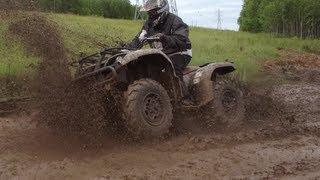 Yamaha Grizzly 660 mud ride