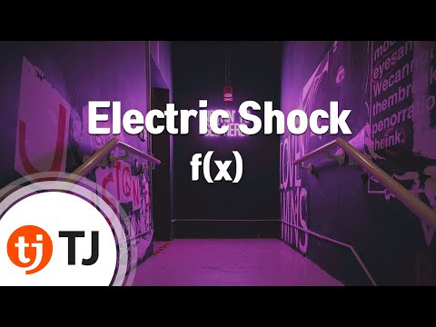 Electric Shock_f(x) 에프엑스_TJ노래방 (Karaoke/lyrics/Korean reading sound)