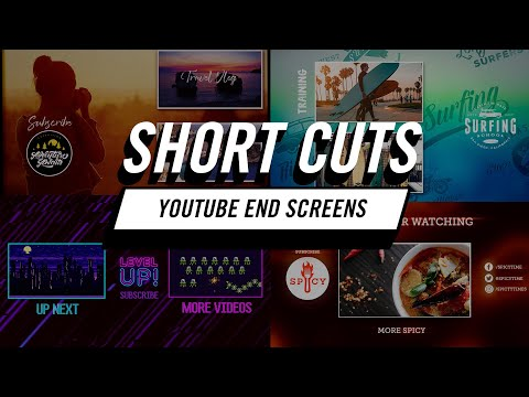 Short Cuts  How to Create Fast YouTube End Screens in Adobe Premiere Pro CC