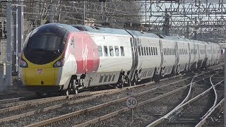Trains at Crewe station | 09/02/2018