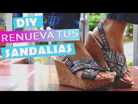 Diy Zapatillas Marsa Youtube ViejasAccesorios Renovar Tus hrCxQdst
