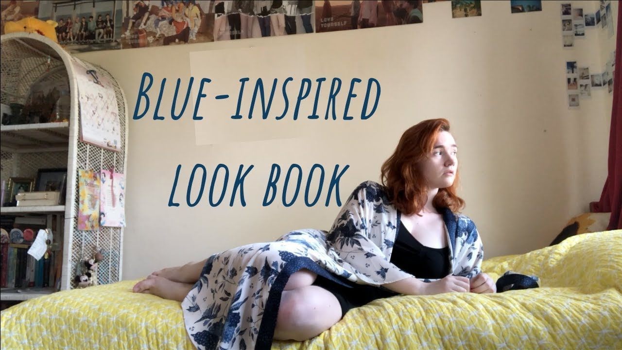 [VIDEO] - Blue-inspired Outfits   Lookbook #14   miss brittany 1