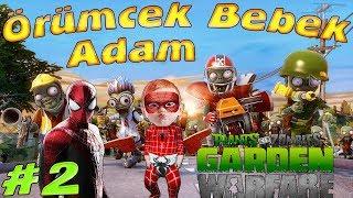 Örümcek Bebek ve Örümcek Adam Plants vs Zombies Oynuyor Örümcek Bebeğin Oyun Maceraları