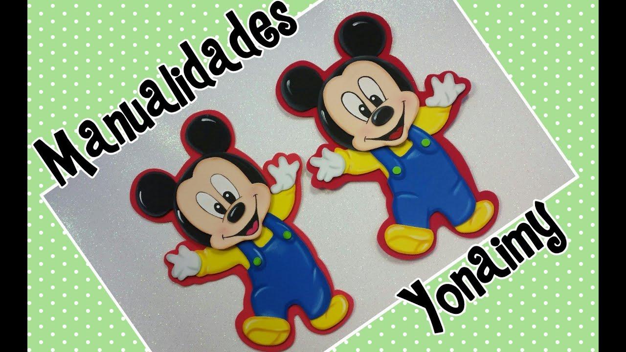 Dibujo De Mickey Mouse Beb Imprimible T Dibujos De