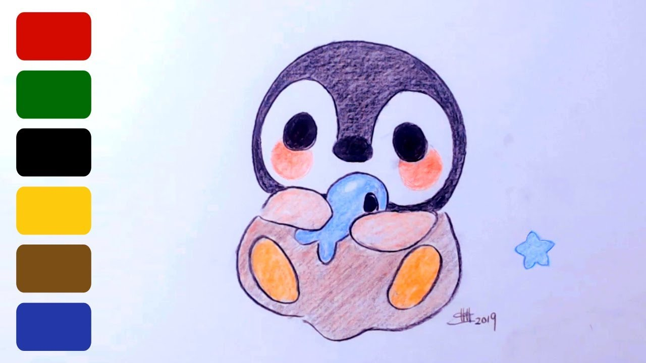 Giving your Profile an Update - SOVA |Cute Baby Penguins Drawings