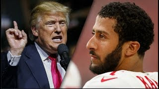 Trump's Surprising Answer to Kaepernick Question