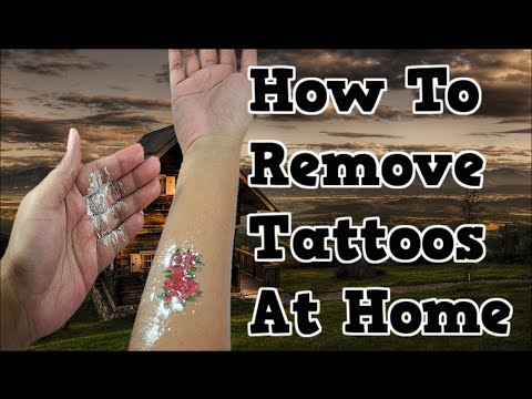 How to remove tattoos at home can you remove a tattoo for I want to remove my tattoo at home