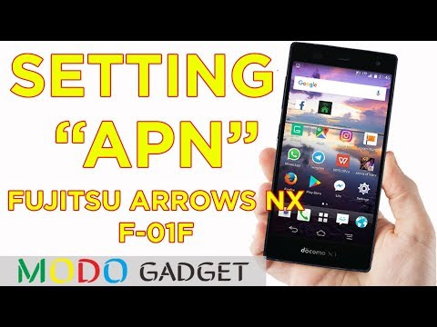 Setting APN All Provider Indonesia on Fujitsu Arrows NX F 01F/Docomo Arrows NX F 01F