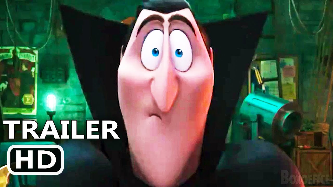 HOTEL TRANSYLVANIA 4 TRANSFORMANIA Trailer Teaser (2021) Animated Movie HD