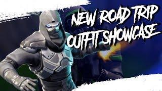 SHOWCASING NEW ROAD TRIP (Enforcer) SKIN IN FORTNITE BATTLE ROYALE