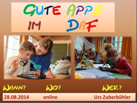 Gute Apps im DaF  Teil 2