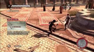 Assassin's Creed Brotherhood: Konami Outfit Gameplay