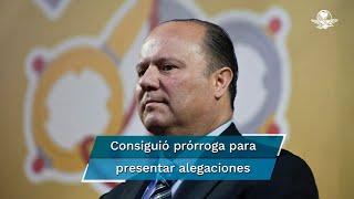 También conceden al exgobernador de Chihuahua una prórroga para presentar, hasta el 3 de noviembre, sus alegaciones para evitar la extradición
