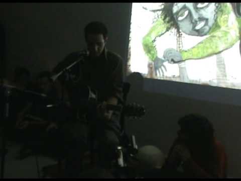 Bijan Moosavi Live At Azad Art Gallery (Tehran/Iran) 2009